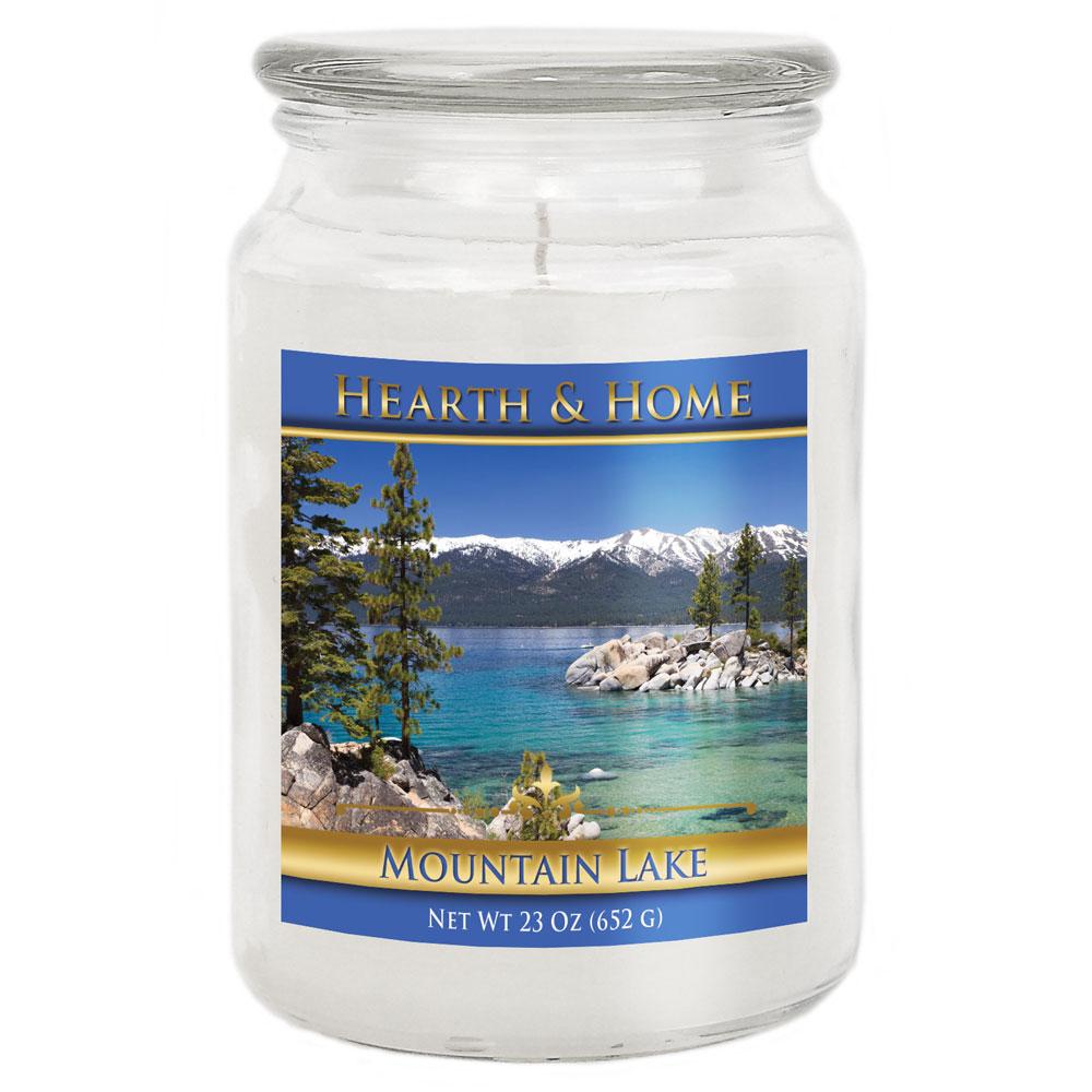 Mountain Lake - Large Jar Candle
