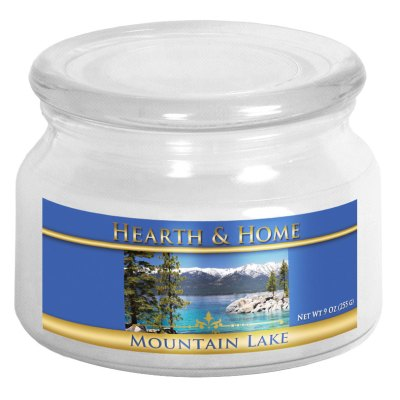 Mountain Lake - Small Jar Candle