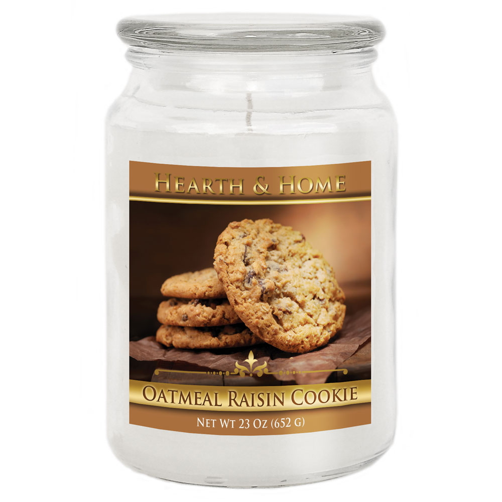 Oatmeal Raisin Cookie - Large Jar Candle