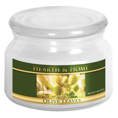 Olive Leaves - Small Jar Candle