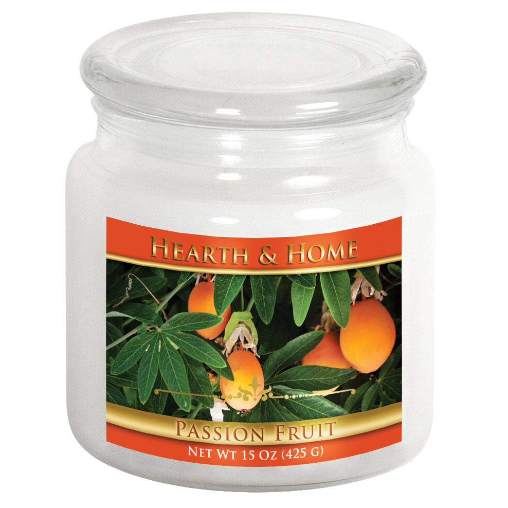 Passion Fruit - Medium Jar Candle