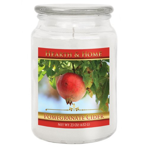 Pomegranate Cider - Large Jar Candle