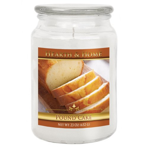 Pound Cake - Large Jar Candle
