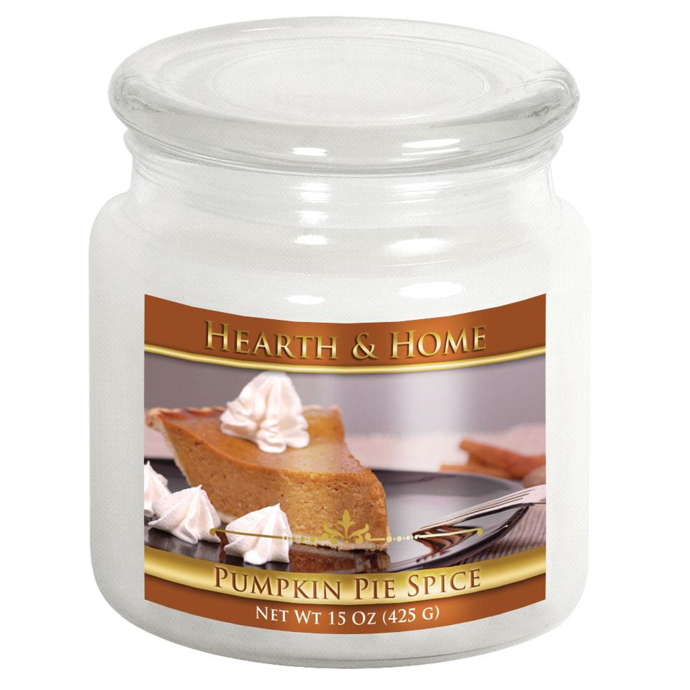 Pumpkin Pie Spice - Medium Jar Candle