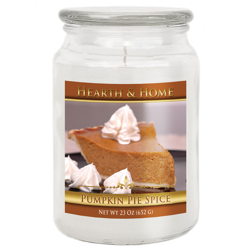 Pumpkin Pie Spice - Large Jar Candle