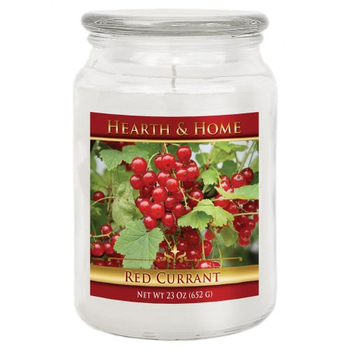 Red Currant - Large Jar Candle