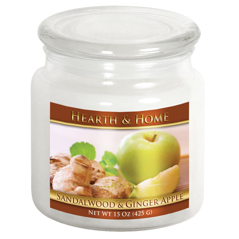 Sandalwood & Ginger Apple - Medium Jar Candle