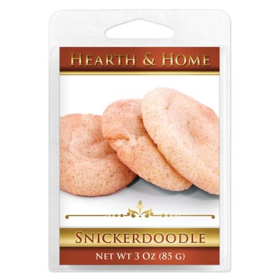 Snickerdoodle Scented Wax Melt Cubes - 6 Pack