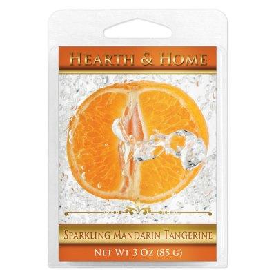 Sparkling Mandarin Tangerine Scented Wax Melt Cubes - 6 Pack