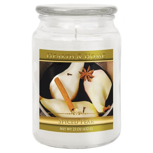 Spiced Pear - Large Jar Candle