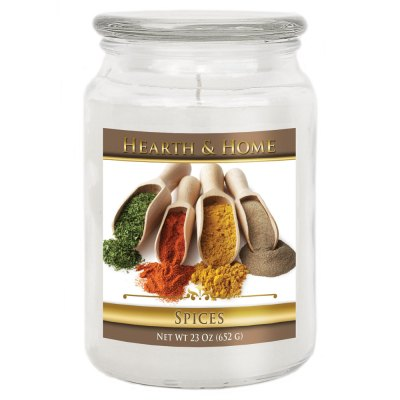 Spices - Large Jar Candle