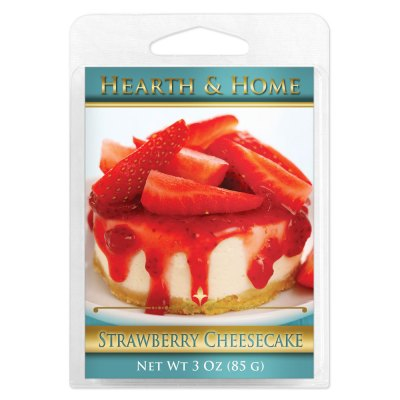 Strawberry Cheesecake Scented Wax Melt Cubes - 6 Pack
