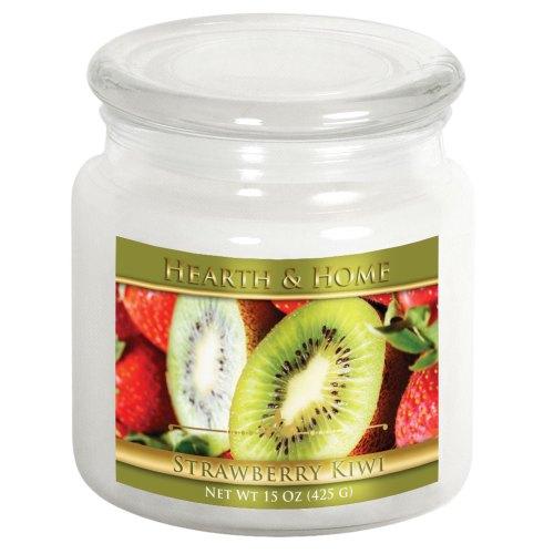 Strawberry Kiwi - Medium Jar Candle