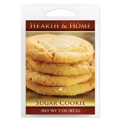 Sugar Cookie Scented Wax Melt Cubes - 6 Pack