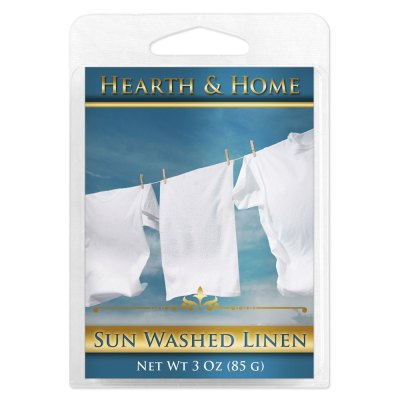 Sun Washed Linen Scented Wax Melt Cubes - 6 Pack
