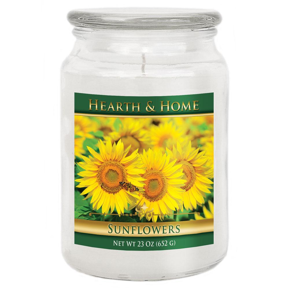 Sunflowers - Large Jar Candle