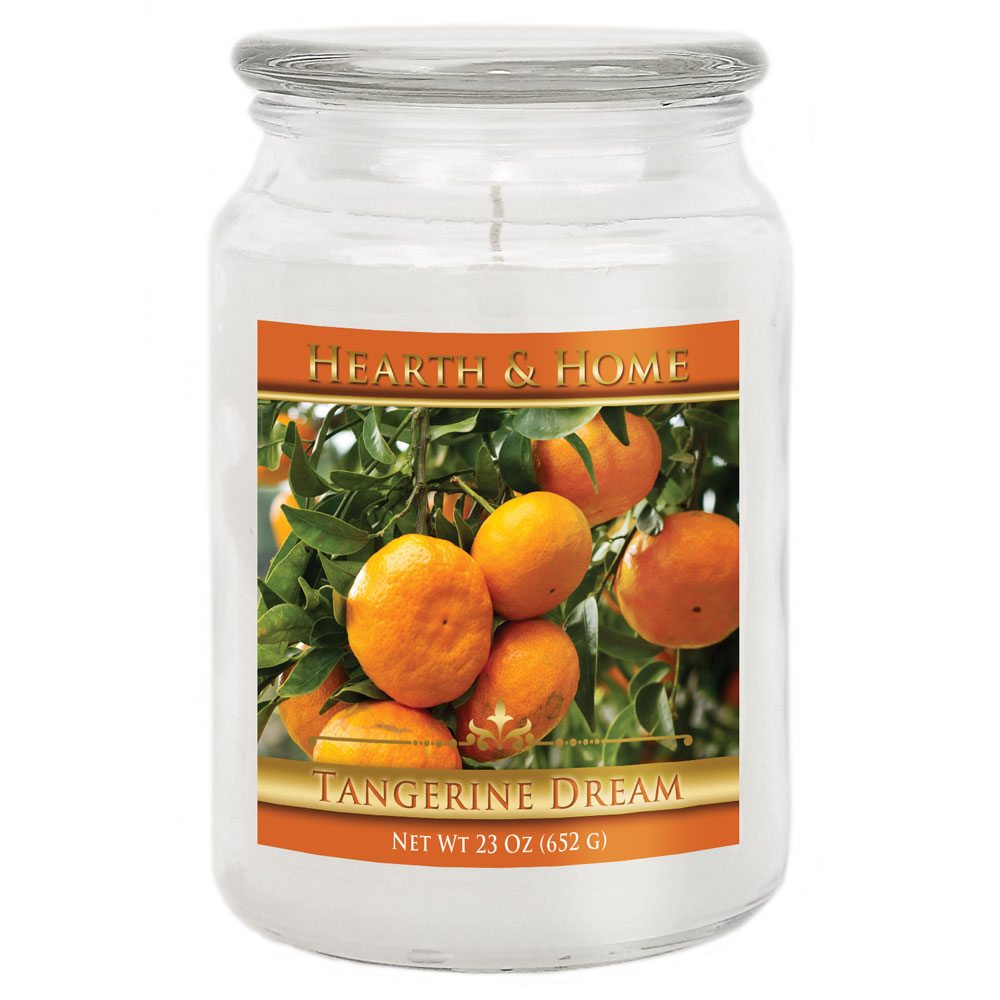 Tangerine Dream - Large Jar Candle