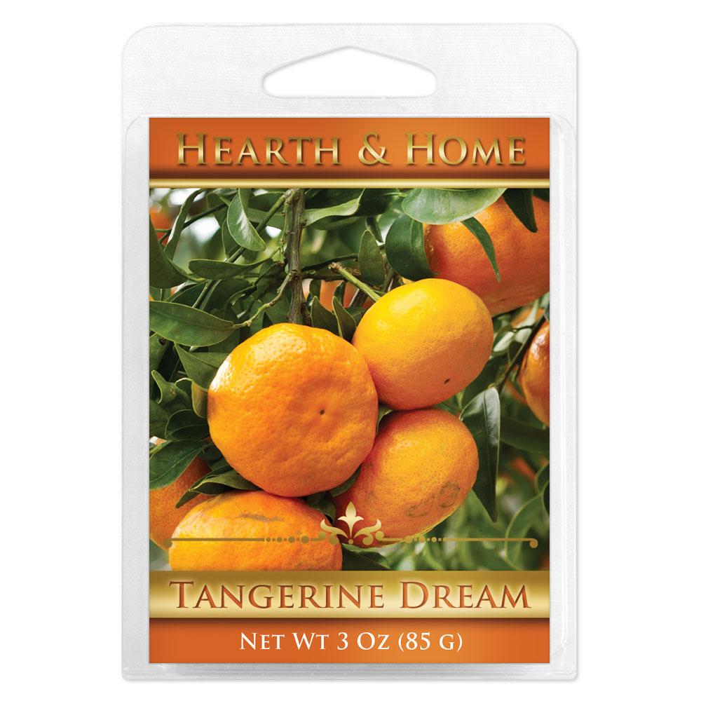 Tangerine Dream Scented Wax Melt Cubes - 6 Pack