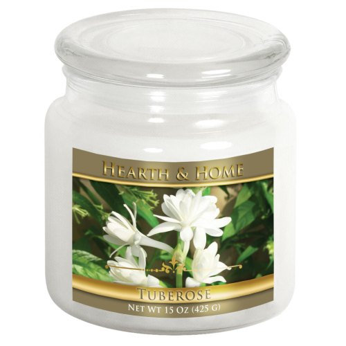 Tuberose - Medium Jar Candle