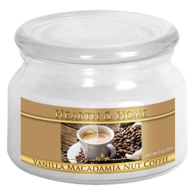 Vanilla Macadamia Nut Coffee - Small Jar Candle