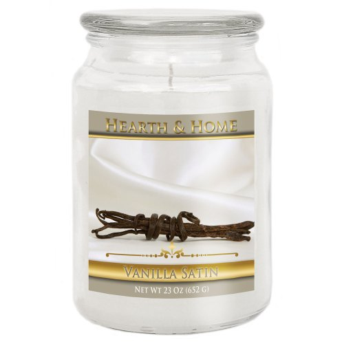 Vanilla Satin - Large Jar Candle