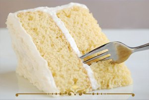 White Cake Scented Candles