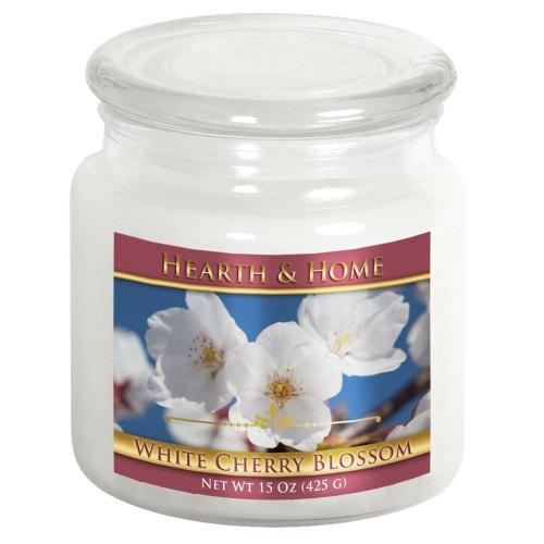 White Cherry Blossom - Medium Jar Candle