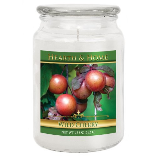 Wild Cherry - Large Jar Candle