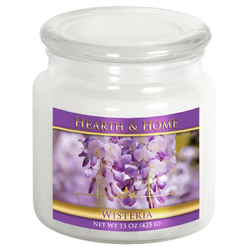 Wisteria - Medium Jar Candle