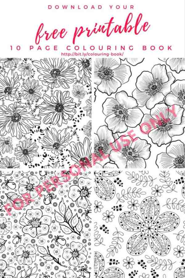 Want to get your hands on free printable coloring pages for adults? Get 10 printable coloring pages for adults free!! It's a printable coloring book full of floral patterns & designs. If you love to color, find out how to build your own coloring book using the Zutter Bind It All machine & the best tools to make your coloring pages look amazing! Download your free coloring pages for adults here - http://bit.ly/colouring-book/