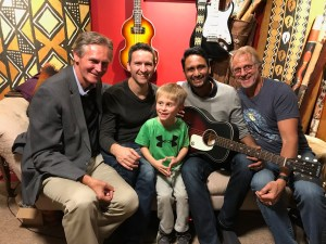 Treyden with Dr. Viral Jain and the hearthehope.org crew