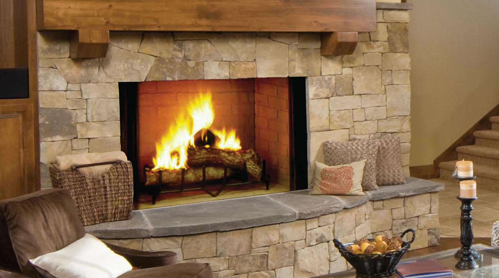 Majestic Biltmore Wood Fireplaces