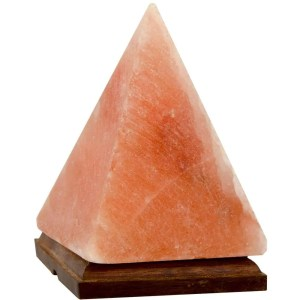 Pyramid Salt Lamp
