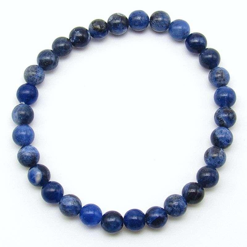 Sodalite 6mm bead bracelet