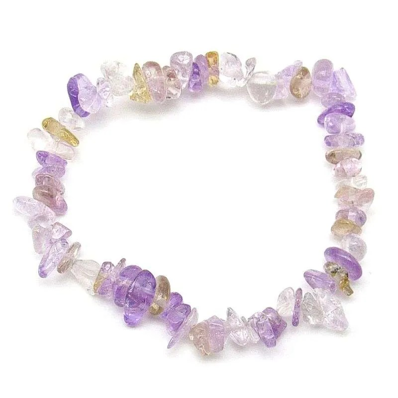 Ametrine chip bracelet