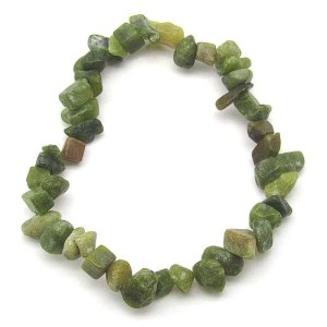Serpentine chip bracelet.