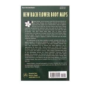 Back cover of the New Bach Flower Body Maps by Dietmar Kramer