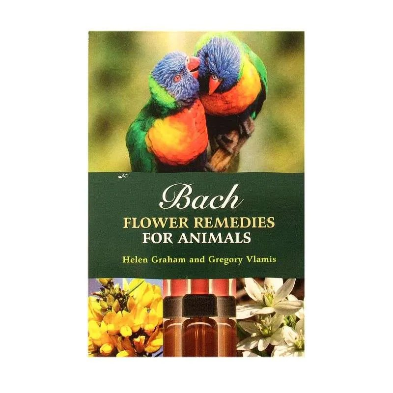 Front cover of Bach Flower Remedies for Animals by Helen Graham