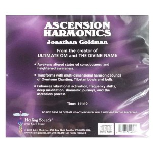 Back cover of Ascension Harmonics