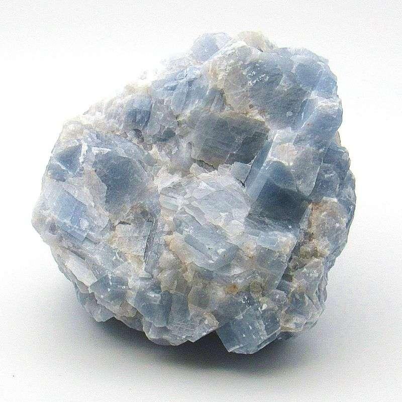 Blue calcite chunk.