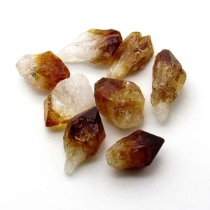 Citrine points.
