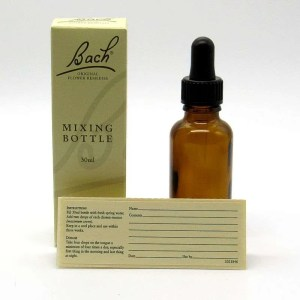 Bach Flower Remedy mixing bottle 30 ml