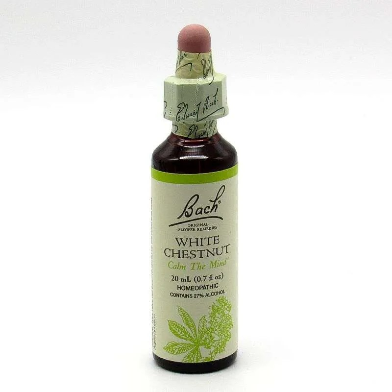 Bach Flower Remedy - White Chestnut