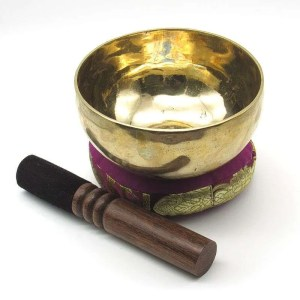 5 3/8 inch metal singing bowl