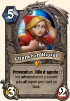 Carte Bras de fer - Chaperon Rouge
