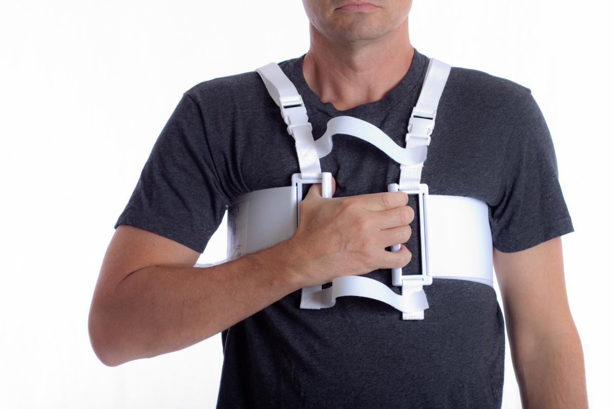 heart hugger sternum support harness