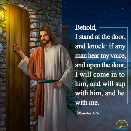 Revelation 3:20 - Verse Meaning - Behold I Stand at the Door and Knock