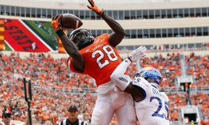 NCAA Football: Kansas at Oklahoma State