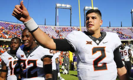 NCAA Football: Oklahoma State at Texas Christian