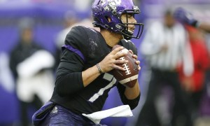 NCAA Football: Kansas State at Texas Christian